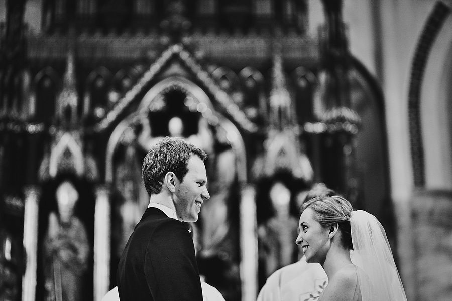 Wedding ceremony by photographer Warwickshire