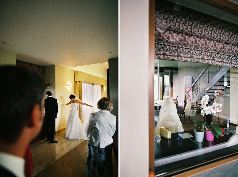 colour film on wedding photography