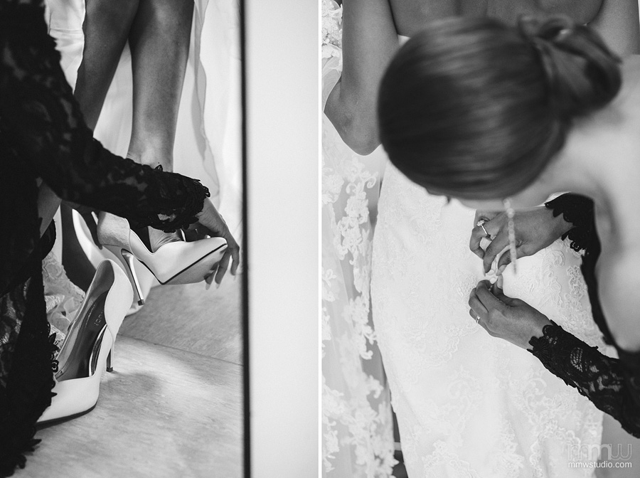 wedding shoes, bride preparation