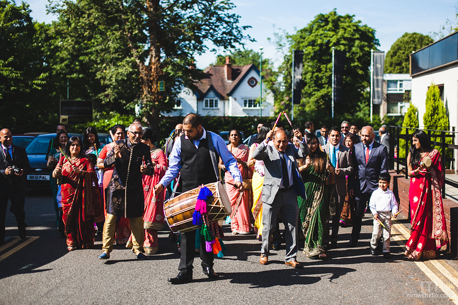 indian wedding ceremony at st johns hotel solihull, photo by mmwstudio