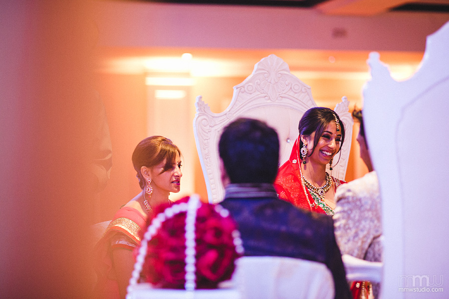 indian wedding by photographer solihull
