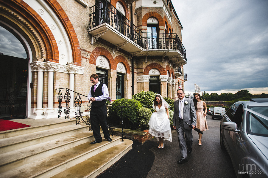 Wedding in Petersham Hotel, Richmond