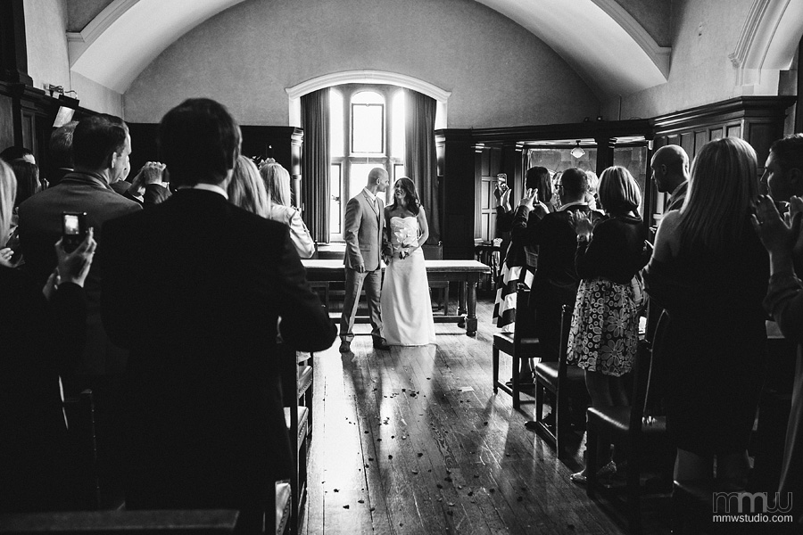 beautiful civil mariage, registry office ceremony, Oxford Town Hall