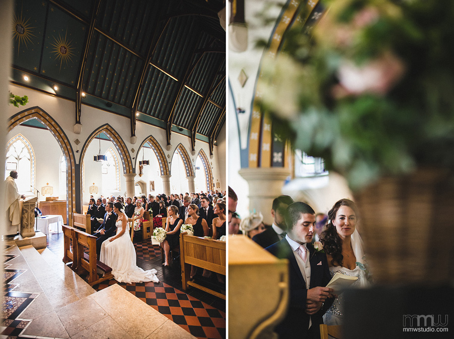 Wedding at St Thomas of Canterbury Fulham