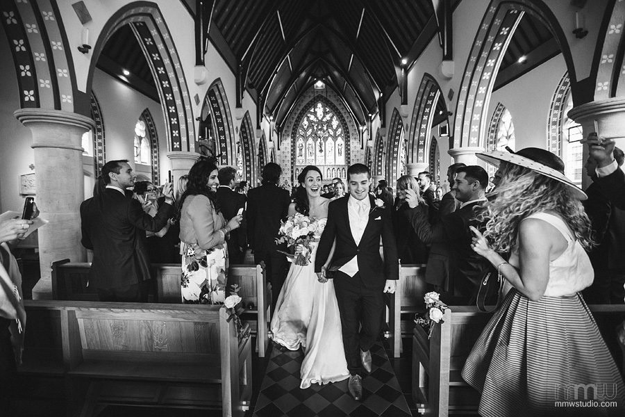 wedding photography at st thomas church Fulham