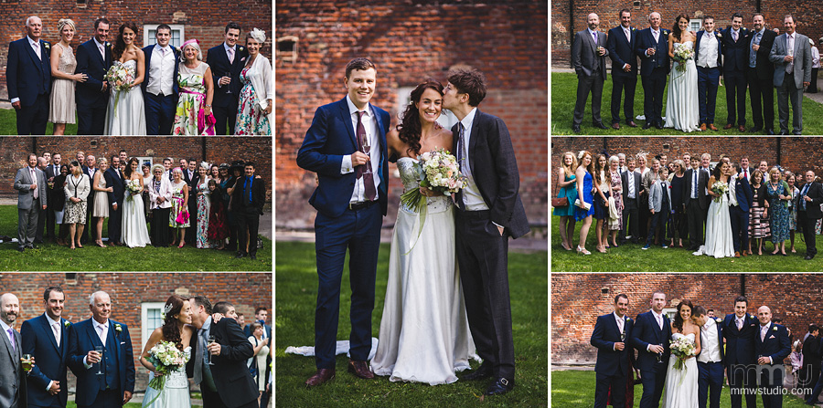 formal family shots by wedding photographer Fulham Palace