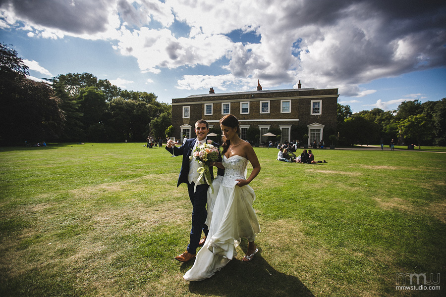 wedding photographer Fulham Palace