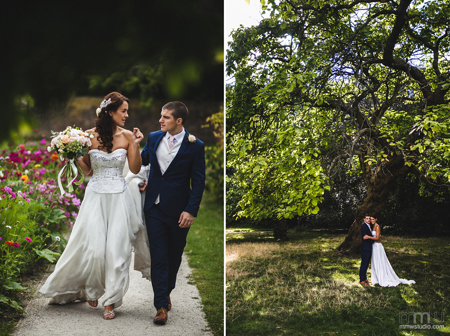 wedding photography at the garden in Fulham Palace