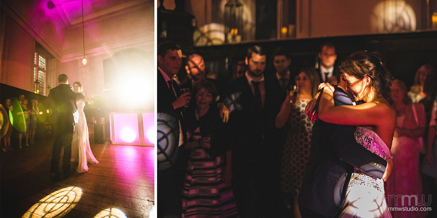 wedding photographer Fulham Palace, first dance, lens flare