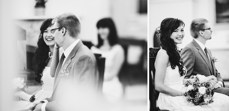 cheerful informal wedding reportage