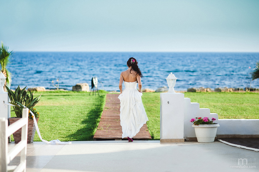 weddin on Cyprus, Aphrodite Beach