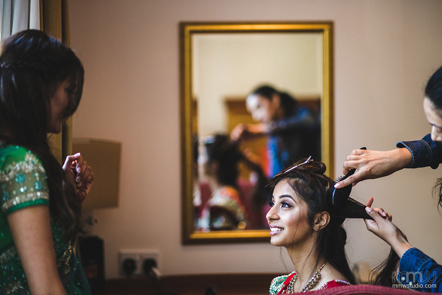 indian wedding preparations