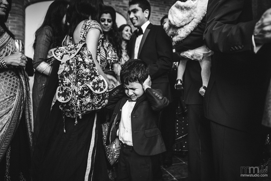 funny kids on the wedding