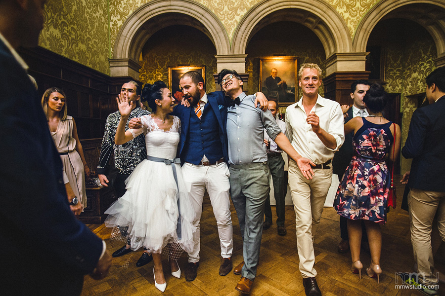 best informal wedding photography at Stapleford Park
