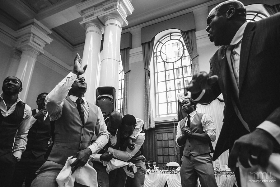 best informal wedding reportage at Methodist Central Hall, Westminster, London