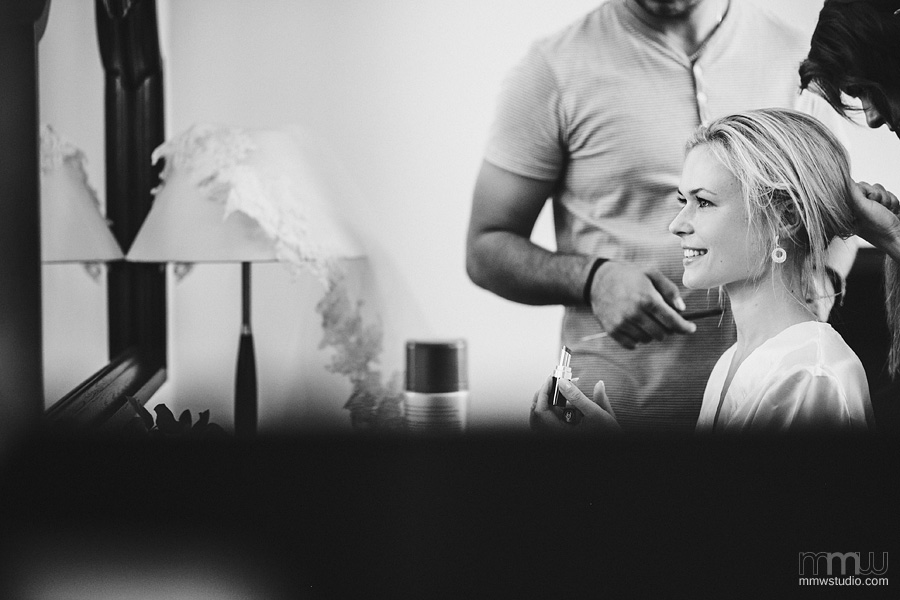 Beautiful bride preparation, wedding reportage