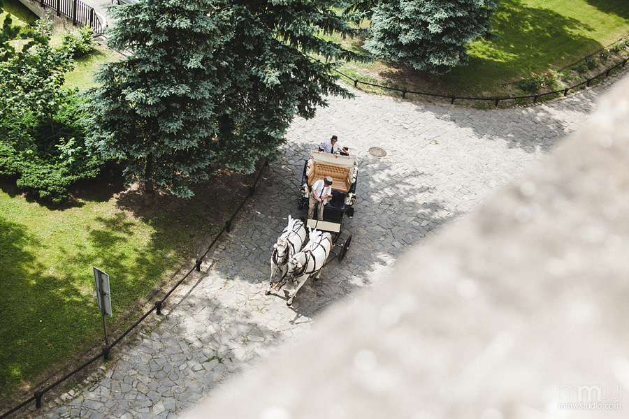 wedding carriage, destination wedding photography