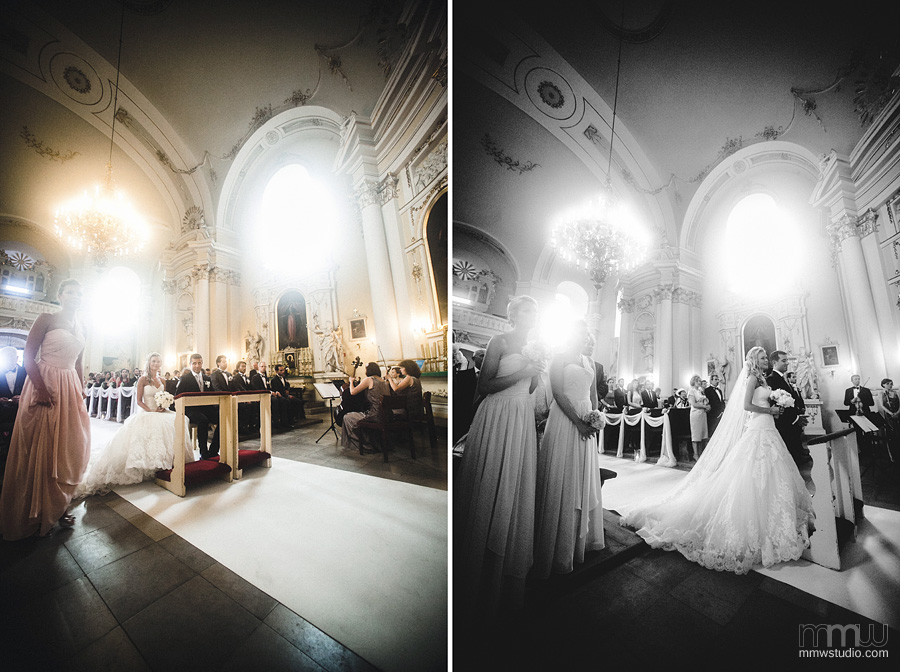 wide angle in wedding photography