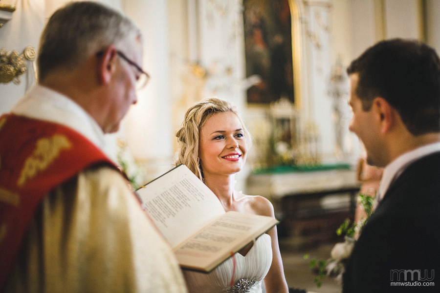 wedding vows by Birmingham wedding photographers