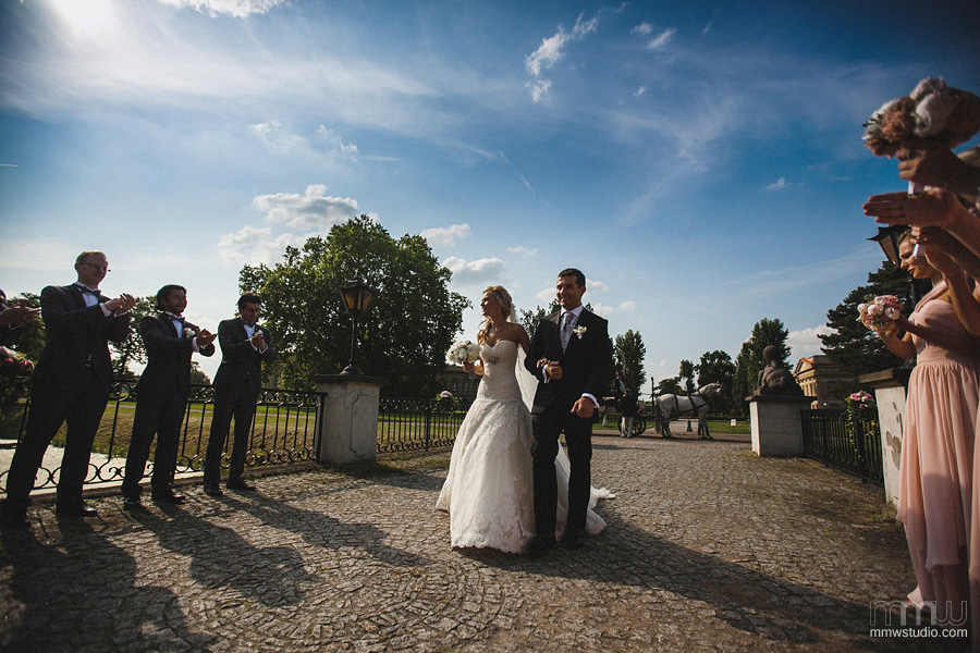 wedding at Rydzyna Castle